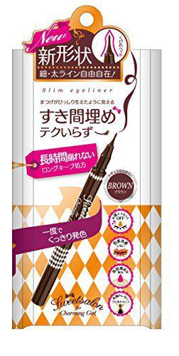 スウィートサロンのスウィートサロン Sweet salon スウィートサロン スリムアイライナー 02<ブラウン>に関する画像1