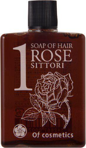 オブ・コスメティックス オブ・コスメティックス Of cosmetics ソープ オブ ヘア・1-RO シットリ ミニサイズ 60ml ローズの香り の画像 0