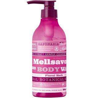 メルサボン メルサボン Mellsavon メルサボン モイストボディウォッシュ 本体 500ml フローラルハーブの画像