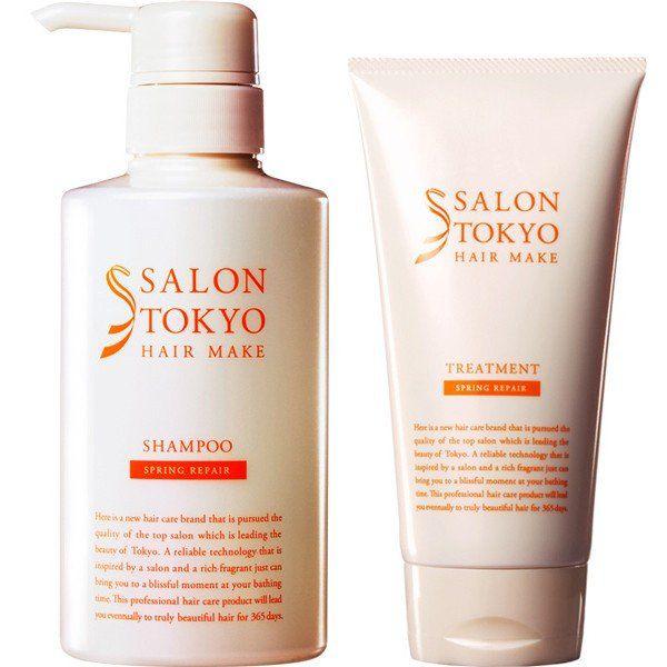 サロントーキョーのサロントーキョー SALON TOKYO スプリングリペア シャンプー シャンプー 400mlに関する画像1