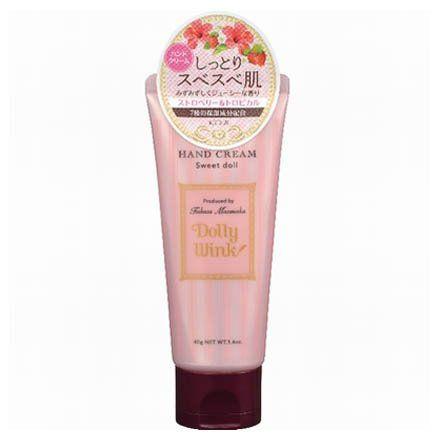 ドーリーウインクのドーリーウインク Dolly Wink ハンドクリーム スイートドール ストロベリー&トロピカルの香り 40gに関する画像1