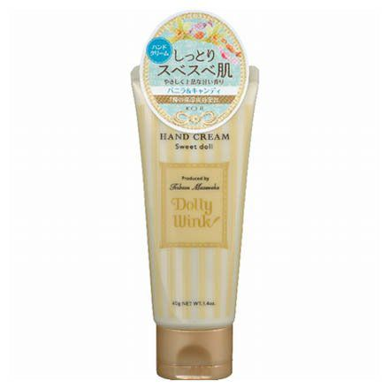 ドーリーウインクのドーリーウインク Dolly Wink ハンドクリーム スイートドール バニラ&キャンディの香り 40gに関する画像1