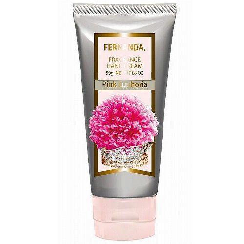 フェルナンダのフェルナンダ FERNANDA ハンドクリーム ピンクエウフォリア 50gに関する画像1