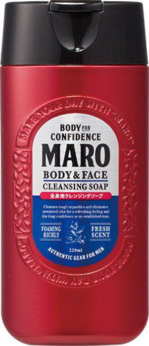 MARO マーロ MARO MARO 全身用クレンジングソープ 220mlの画像