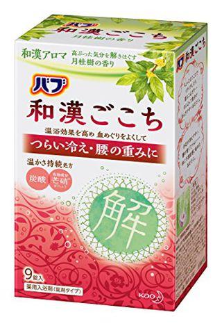 バブ バブ Bub 和漢ごこち 月桂樹の香り 9錠入の画像