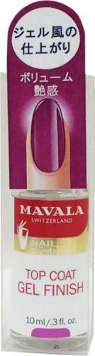 マヴァラ マヴァラ MAVALA ジェルフィニッシュトップコート 10mlの画像