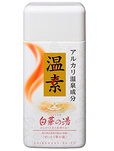 アース製薬の温素 温素 白華の湯 600gに関する画像1