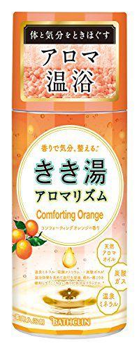 null きき湯 KIKIYU アロマリズムコンフォーティングオレンジの香り 360gの画像
