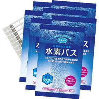 水素生活  水素バススターターセット 1袋30g×5包+ケース×1の画像