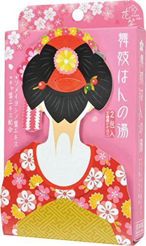 花笑 花笑 舞子はんの湯 桜・抹茶セット 25g×2の画像