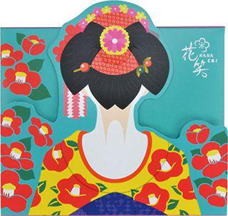 花笑 花笑 舞子はんのあぶらとり紙 つばき 50枚の画像