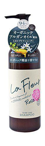 ラ・フルール ラ・フルール La Fleur ヘアシャンプー 290ml ローズの画像