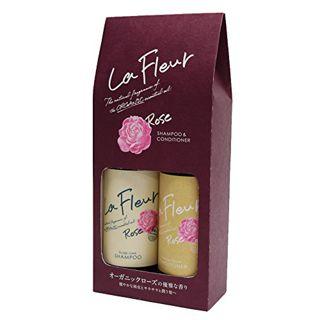 ラ・フルール ラ・フルール La Fleur シャンプー&コンディショナー 290ml×2 ローズの画像