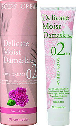 オブ・コスメティックス オブ・コスメティックス Of cosmetics ボディクリーム・02-RO 本体 155g ダマスクローズの香りの画像