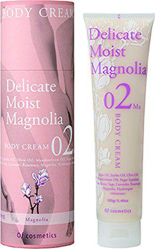 オブ・コスメティックス オブ・コスメティックス Of cosmetics ボディクリーム・02-Ma 本体 155g マグノリア(木蓮)の香りの画像
