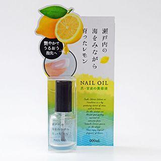 デイリーアロマジャパン 瀬戸内レモン LEMON ネイルオイル 10ml レモンの画像