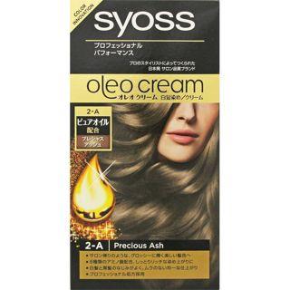 サイオス サイオス syoss オレオクリーム ヘアカラー プレシャスアッシュ/透けるように明るく繊細なアッシュ 50g+50gの画像