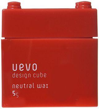 ウェーボ デザインキューブ ウェーボ デザインキューブ UEVO design cube デザインキューブニュートラルワックス 80gの画像