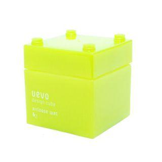 ウェーボ デザインキューブ ウェーボ デザインキューブ UEVO design cube デザインキューブエアルーズワックス 80gの画像