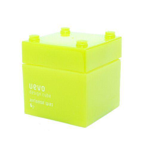 ウェーボ デザインキューブのウェーボ デザインキューブ UEVO design cube デザインキューブエアルーズワックス 80gに関する画像1