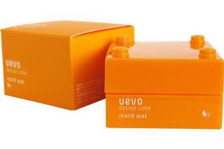 ウェーボ デザインキューブ ウェーボ デザインキューブ UEVO design cube デザインキューブラウンドワックス 30gの画像