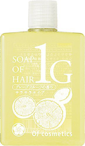 オブ・コスメティックス オブ・コスメティックス Of cosmetics ソープ オブ ヘア・1-G ミニサイズ 60mL グレープフルーツの香りの画像