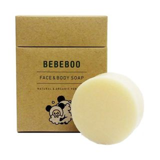 null ベベブー BEBEBOO FACE&BODY SOAP 80gの画像