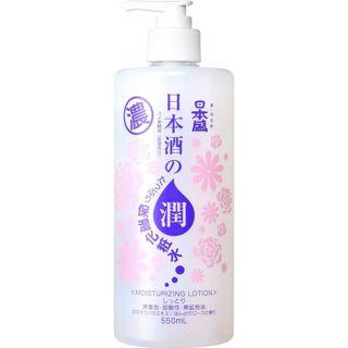 日本盛 日本酒のたっぷり保湿化粧水 しっとり  550mlの画像