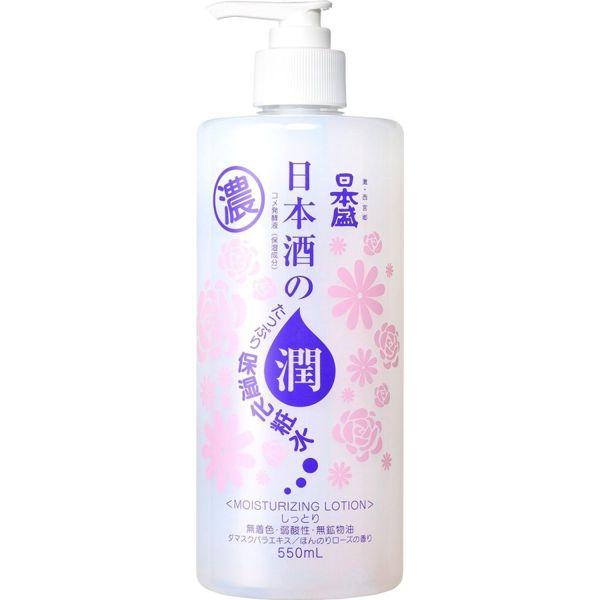 日本盛の日本酒のたっぷり保湿化粧水 しっとり 550mlに関する画像1