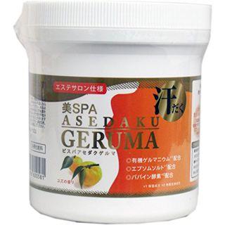 美SPA  美SPA ASEDAKU GERUMA ユズ 400g ユズの香りの画像