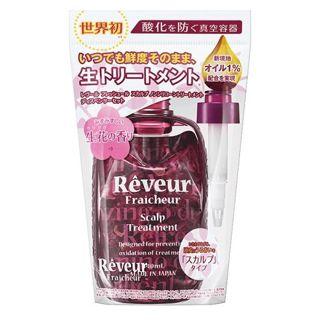レヴール レヴール Reveur Reveur Fraicheur(レヴール フレッシュール) スカルプ ノンシリコントリートメント ディスペンサーセット 340ml フローラルジンジャーの香りの画像