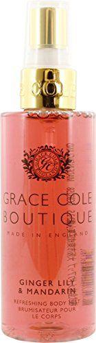 グレースコール グレースコール GRACE COLE BOUTQUE ボディミスト ジンジャーリリー&マンダリン 100mlの画像