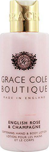 グレースコール グレースコール GRACE COLE BOUTQUE ハンド&ボディローション イングリッシュローズ&シャンパン 100mlの画像