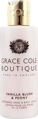 グレースコール グレースコール GRACE COLE BOUTQUE ハンド&ボディローション バニラブラッシュ&ピオニー 100mlの画像