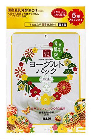 リシャン リシャン 豆乳ヨーグルトパック 5枚入の画像