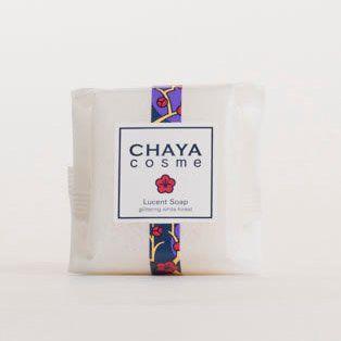 CHAYAcosme 箔座 CHAYA COSME ルーセントソープ 白い森の香り 50gの画像