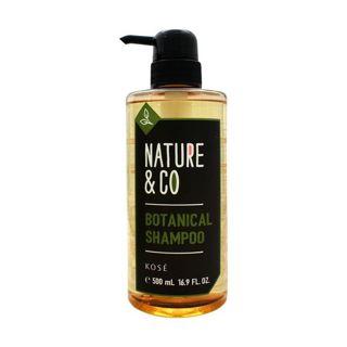 Nature&Co ネイチャーアンドコー Nature & Co ボタニカル シャンプー シャンプー/本体 500mL リラックスハーバルグリーンの香りの画像