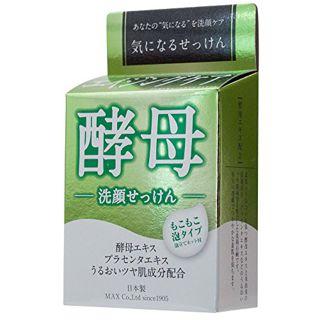 マックス マックス 気になる洗顔石けん 酵母 フローラルシトラスの香りの画像