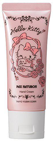 パックスナチュロン パックスナチュロン PAX NATURON ハローキティハンドクリーム ローズ 40gの画像