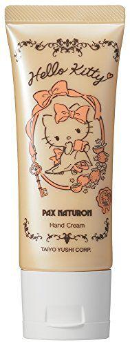 パックスナチュロン パックスナチュロン PAX NATURON ハローキティハンドクリーム シトラス 40gの画像
