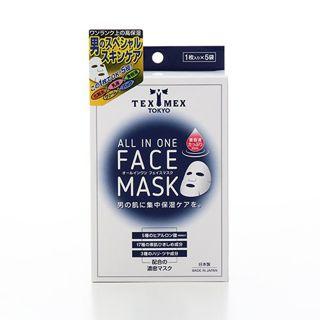 テックスメックス テックスメックス TEX-MEX オールインワンフェイスマスク (20mL/1枚)×5袋の画像