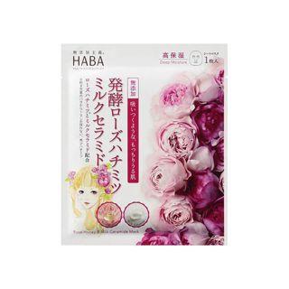 ハーバー ハーバー HABA 発酵ローズハチミツミルクセラミドマスク 24mlの画像
