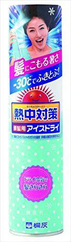 桐灰化学 桐灰化学 Kiribai Chemical 熱中対策 頭髪用アイスドライの画像