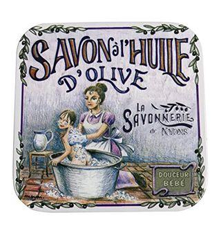 サボネリー サボネリー アンティーク缶入り石鹸 95gの画像