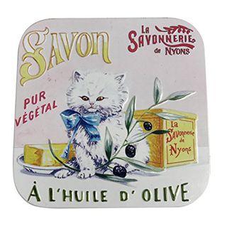 サボネリー サボネリー アンティーク缶入り石鹸の画像