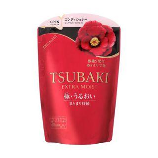 TSUBAKI ツバキ TSUBAKI エクストラモイスト コンディショナー 詰替 心華やぐ椿蜜果(つばきみつか)の香り 345mLの画像