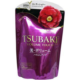 TSUBAKI ツバキ TSUBAKI ボリュームタッチ コンディショナー 詰替 透明感あるフローラルフルーティーの香り 345mLの画像