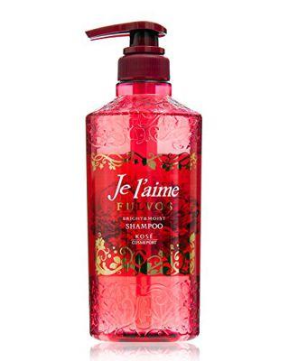ジュレーム ジュレーム Je l'aime フルボス ブライトニング シャンプー(ブライト&モイスト) きらめくフェミニンな赤い花々と果実の香り 500mlの画像