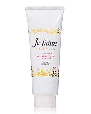 ジュレーム ジュレーム Je l'aime フルボス ディープブライトニング ヘアマスク(ブライト&モイスト) きらめくフェミニンな赤い花々と果実の香り 230gの画像