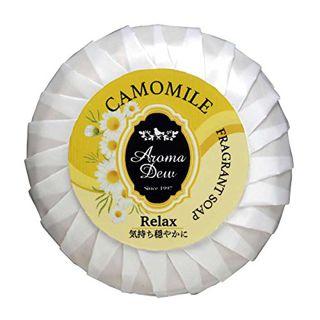 アロマデュウ アロマデュウ フレグランスソープ カモミール カモミール 100gの画像